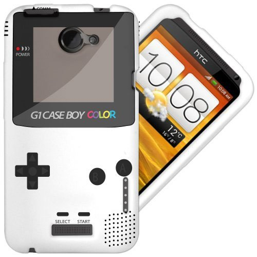 new concept 10ca1 9124a HTC One X / X+ X Plus Gel/TPU White Case - Cool Retro Same Boy Design