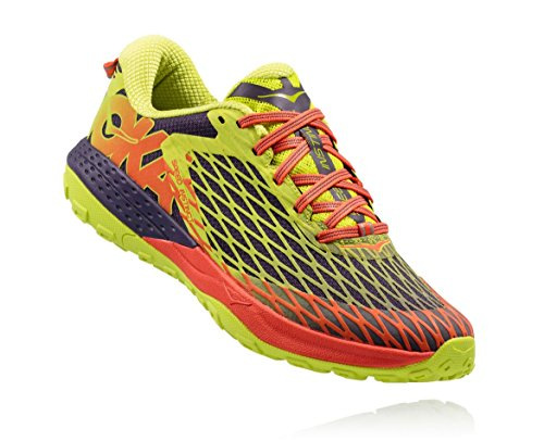 Hoka Speed Instinct Trail Running Shoes - SS17-8.5 - Yellow