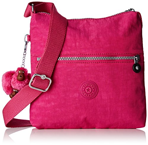 Rose Zamor sac Kipling Verry bandoulière Berry 4AxannBw