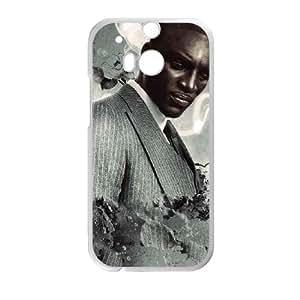 Akon HTC One M8 Cell Phone Case White VC9N1894
