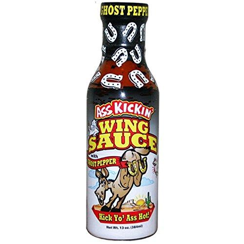 Ass Kickin' Ghost Pepper Wing Sauce