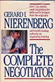The Complete Negotiator, Nierenberg, Gerard I., 0936305002