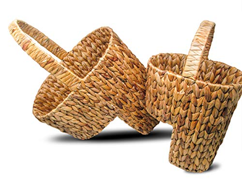 Trademark Innovations Stair Basket Tan (Stairs Baskets)