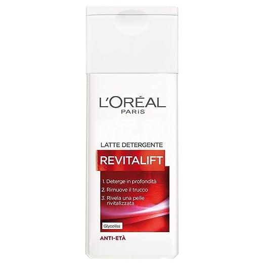 9 opinioni per L'Oréal Paris Revitalift Latte Detergente Anti-Età, 200 ml