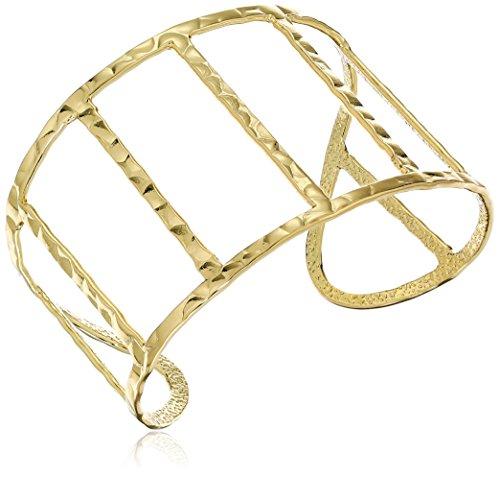 - Panacea Gold Bar Cuff Bracelet