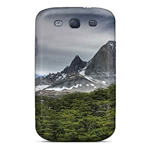 Pretty EJHPNsY3899CjdmjIphone 5C Case Cover/ Nature Mountains Rocks Of The Forest Series High Quality Case