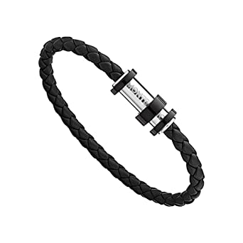 e3dff14bb805 Amazon.com  Montblanc Meisterstuck Black Woven Leather Men s ...