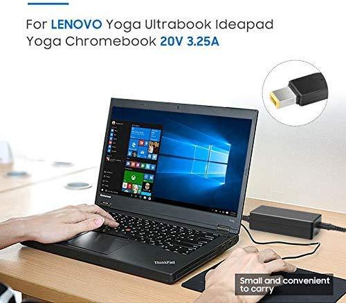 KFD 65W 45W Cargador Portátil Adaptador para Lenovo IdeaPad Yoga 2 11 11s 13 2 Pro13 Lenovo 80TH V110-15IKB Yoga 730-15 730-15IKB Flex 2 15 15D 14 10 ...
