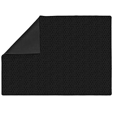 Roll-Play Board Game Mat 3' x 4' | Neoprene Tabletop Accessory | Level-up Classic Card Games, Dice Games, Tabletop & RPG Gaming | Double-Sided, Reversible, Portable | Rubber and Pattern Sides: Toys & Games