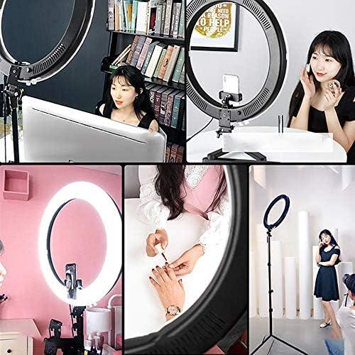 Docooler Anillo de luz Selfie,Mejorando la luz de Relleno Fotograf/ía Luces fotogr/áficas complementarias para tel/éfonos