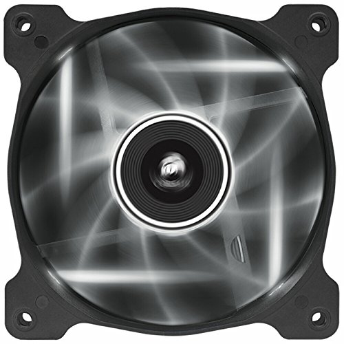 Corsair Air Series AF120 LED Quiet Edition High Airflow Fan Single Pack - White 120 Single