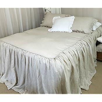 bedspreads handmade in natural linen natural linen bed linen