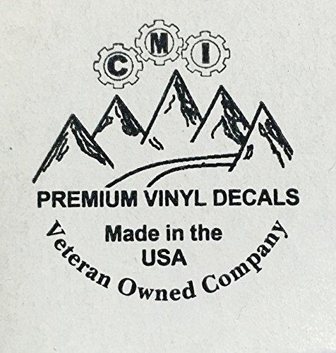 CMI708 Large Steamboat White 7.5X4.8 Premium Quality Die Cut Vinyl Decal