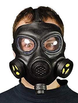 Mascara de gas disfraz