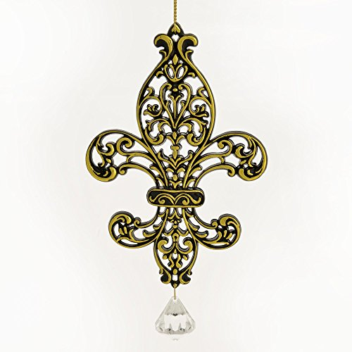 fleur-de-lis-with-jewel-accent-gold-colored-resin-hanging-christmas-ornament