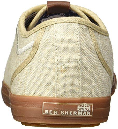 Ben Sherman Mens Chandler Lo Sneaker Naturale
