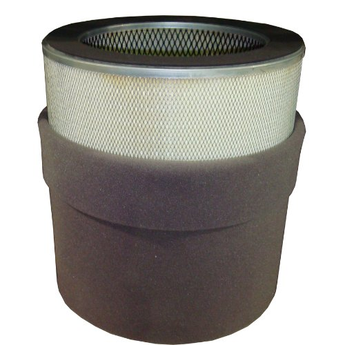 Solberg 484P Paper Filter Element, 21-1/2'' Height, 14'' Inner Diameter, 19-5/8'' Outer Diameter, 4705 SCFM by Solberg