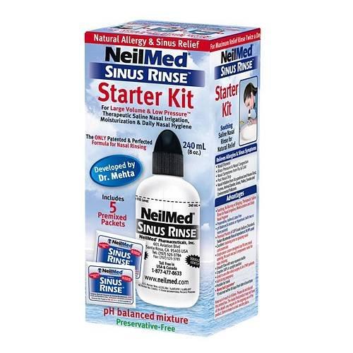 NeilMed Sinus Rinse Regular Bottle Kit-1 kit