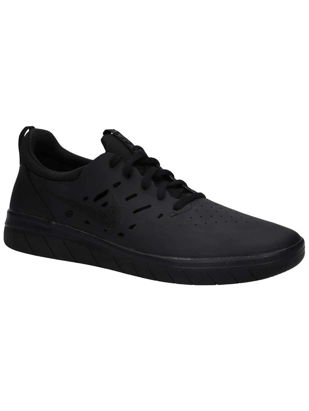 brand new 93ebb f6ffc Galleon - Nike Sb Nyjah Free Mens Aa4272-003 Size 9 Black Black-Black
