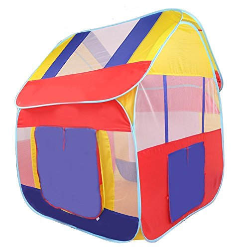 BlueSnail Kids Outdoor Indoor Big Pop-Up Fun Play Hut House - Big Hut
