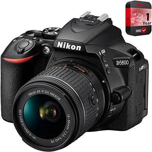 51mVdV8R EL. AC  - Nikon D5600 Digital SLR Camera & 18-55mm VR DX AF-P Lens - (Renewed)