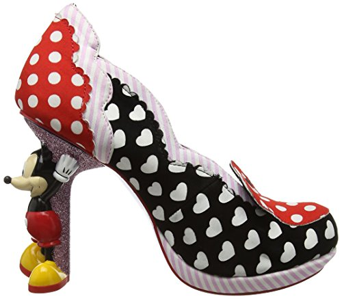 Choice Femme Irregular fermé Bout Escarpins A Noir Mouse Minnie FZYqxqUd