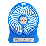 Mini Portable USB/Li-ion Battery Rechargeable Multifunctional Fan 3 Modes