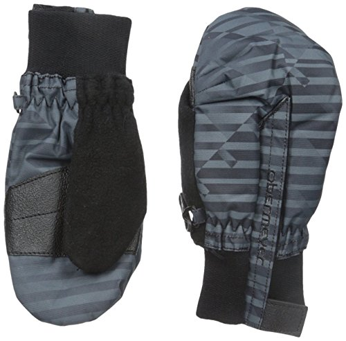 Obermeyer Thumbs Up Print Mittens, X-Large, Stripe Out - Waterproof Obermeyer Mittens