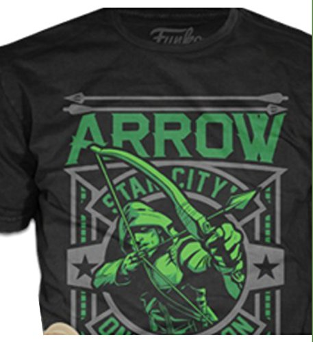 Amazoncom Green Arrow Shirt T Shirt Pop Tees Star City Only