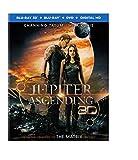 Jupiter Ascending (Blu-ray 3D + Blu-ray + DVD + Digital HD)