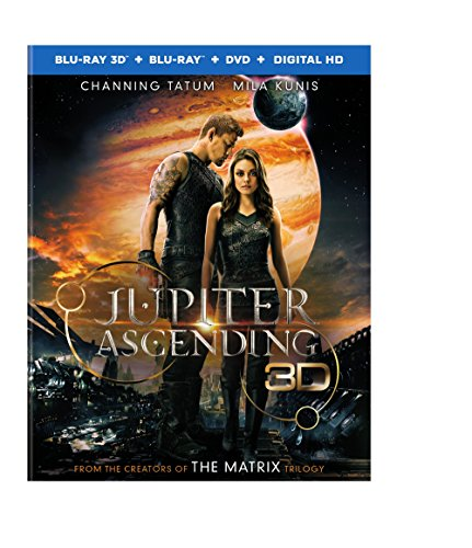 Blu-ray 3D : Jupiter Ascending (3D) (With DVD, With Blu-Ray, 3 Pack, 3 Disc)