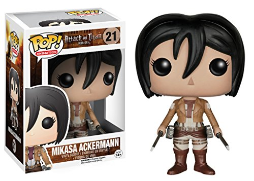 Funko Pop! - Vinyl Attack on Titan Mikasa Ackermann (4363)