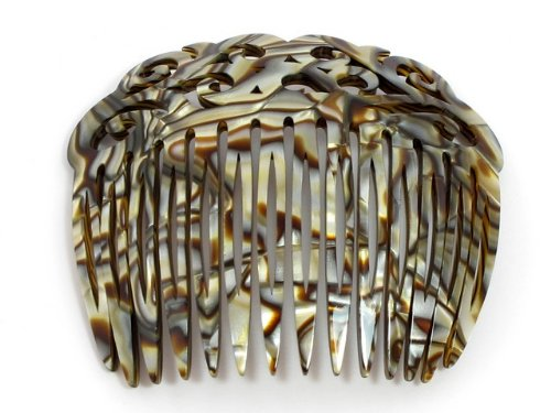 Elysee Haarkamm | Steckkamm 9 cm | Handgefertigt in Frankreich