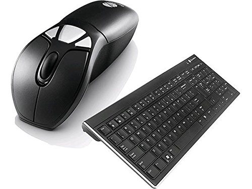 Gyration Wireless Air Mouse GO Plus with Full Sized Wireless Keyboard GYM1100FKNA