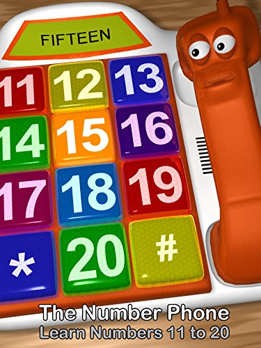 The Number Phone - Learn Numbers 11 to 20 (Phone Number Or Chat)