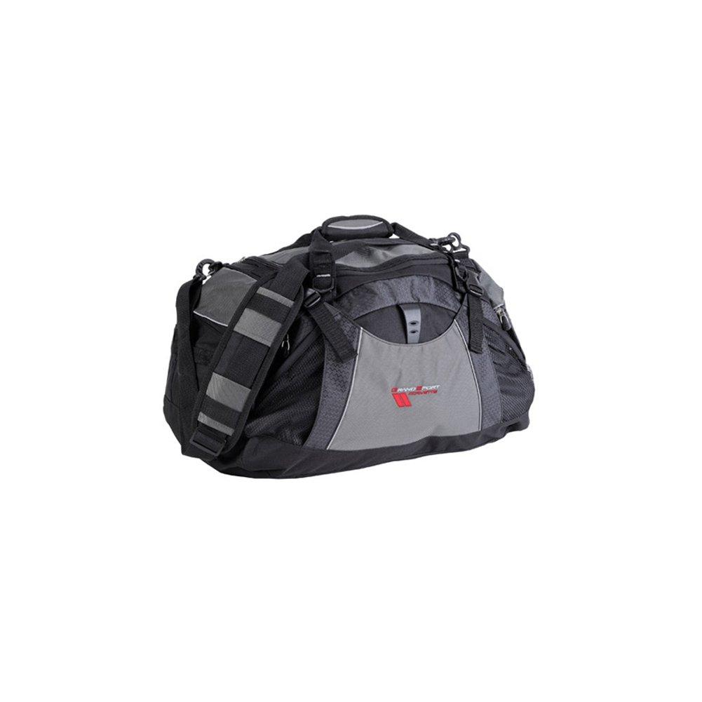 Corvette Duffel Bag Vertex with Grand Sport Logo - Black/Grey : 2010-2013 C6 by West Coast Corvette / Camaro