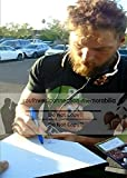 San Francisco Giants Hunter Pence Autographed Hand Signed Photo Baseball Home Plate with Proof Photo and COA