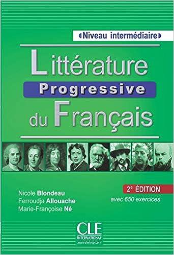 Litterature Progressive Du Francais Niveau Intermediaire