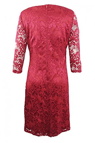 Rot Collection Chianti HERMANN LANGE Kleid nzw6x7x0qF