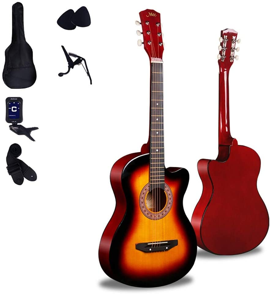 Loivrn Guitarra acústica de cuerdas de nylon de 41 pulgadas ...