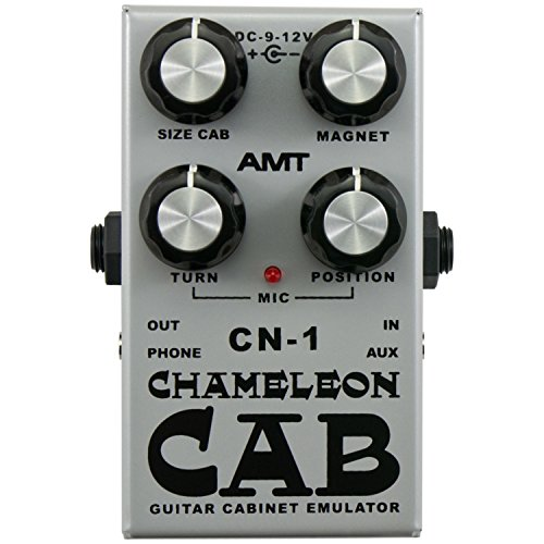 AMT Electronics Chameleon Cab Speaker Cabinet Simulator Pedal (Amt Electronics compare prices)