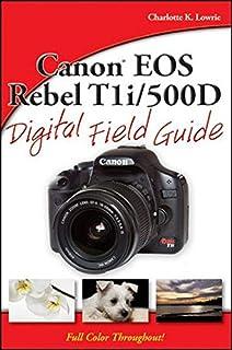amazon com canon eos rebel t1i 500d for dummies 9780470533895