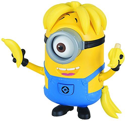 Despicable Me Deluxe Action Figure Banana Crazy Carl Toy Figure -