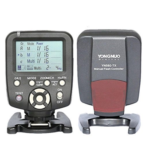 YONGNUO YN560-TX LCD Flash Trigger Remote Controller for Canon and YN560-III With Wake-up function for Canon cameras by Yongnuo