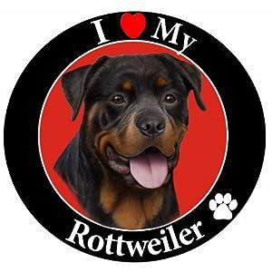 E&S Pets Car Magnet, Rottweiler