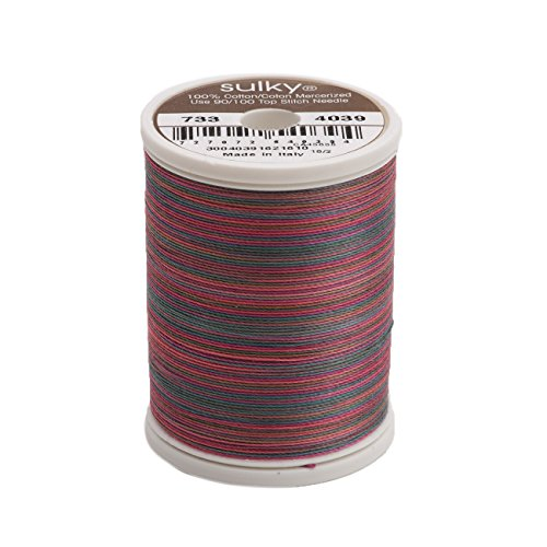 (Sulky 733-4039 Blendables Thread for Sewing, 500-Yard, Winter Holidays)