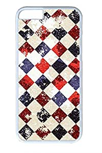 The Ancient Square Slim Hard Cover for iphone 5 5s PC White Cases