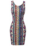 Body Con Printed Mini Dress Royalblue Taupe Size S offers
