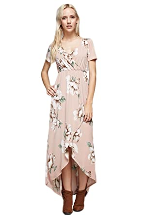 78be27b3a41 Vanilla Bay Vintage Floral Print Maxi Dress at Amazon Women s ...