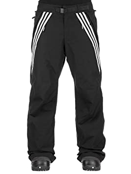 adidas Black White Riding Snowboarding Pants: Adidas: Amazon